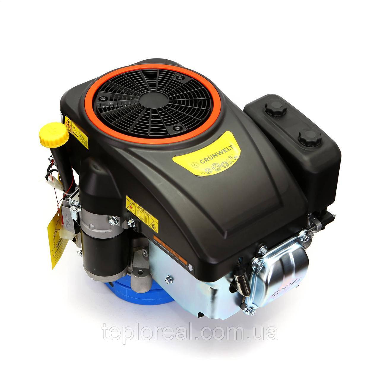 Бензиновый двигатель Grünwelt GW-1P90FЕ с вертикальным валом
