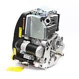 Бензиновый двигатель Grünwelt GW-1P90FЕ с вертикальным валом, фото 2