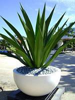 ВЕРОНА Вазон бетонный уличный, горшок для сада, дома и террасы VER3 - 300/600 вес - 36 кг., объем - 50 л.