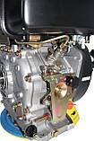 Дизельный двигатель Grünwelt GW 186FB-F2 (9л.с., шпонка - 25мм), фото 8