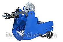Картофелекопалка транспортерная КМТ-7 (AMG) с активным режущим ножём для мотоблока и мототрактора