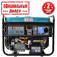Бензиновый генератор Konner&Sohnen KS 10000E (8 кВт)
