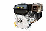 Двигатель GrunWelt GW210-S, NEW, бенз7.0 л.с. 212сс, (шпонка 20мм), бак 5л., фото 6