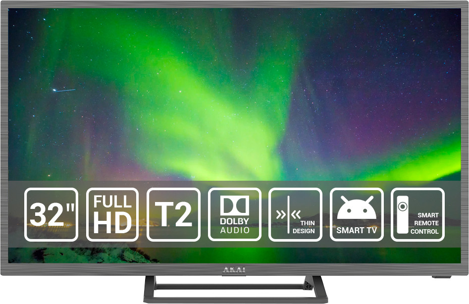 Телевизор LED AKAI UA328IA124FDS