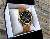 Брендовые мужские часы С кварцевым механизмом Потрясающий вид Хорошее качество Заказать фото Код: КГА1071