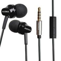 Вакуумні навушники Remax RM-501 Earphone Чорні