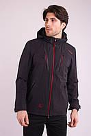 Ветровка куртка мужская черная Avecs AV-70388/1 Black Размеры 46, фото 1