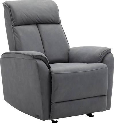 Кресло электро-реклайнер DM-05001 ткань серый TM Bellini, фото 2