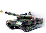 Танк р/у 2.4GHz 1:16 Heng Long Leopard II A6 в металле с пневмопушкой и дымом (HL3889-1PRO), фото 7