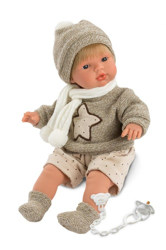 Лялька Llorens Саша плаче хлопчик Лоренс Sasha 38 см 38549
