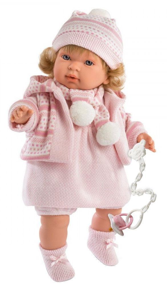 Кукла Llorens Карла интерактивная Лоренс Carla 42 см 42136