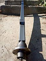 Балка АТВ-155 (01Р) для прицепа квадратная, усиленнаясо ступицами шплинтованными под жигулевское колесо, фото 1