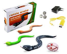 Змея с пультом управления ZF Rattle snake (зеленая), фото 2