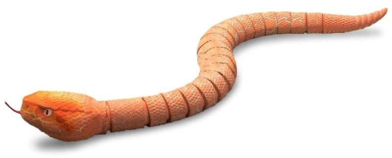 Змея с пультом управления ZF Rattle snake (коричневая), фото 2