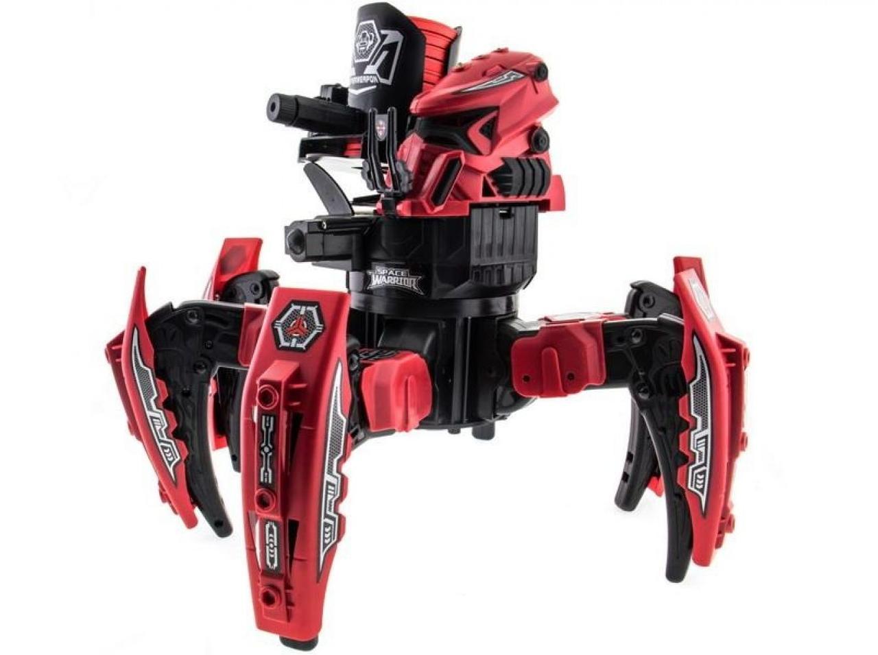 Робот-паук радиоуправляемый Keye Space Warrior с ракетами и лазером (красный)