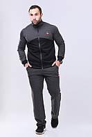 Мужской костюм спортивный из турецкой двунитки