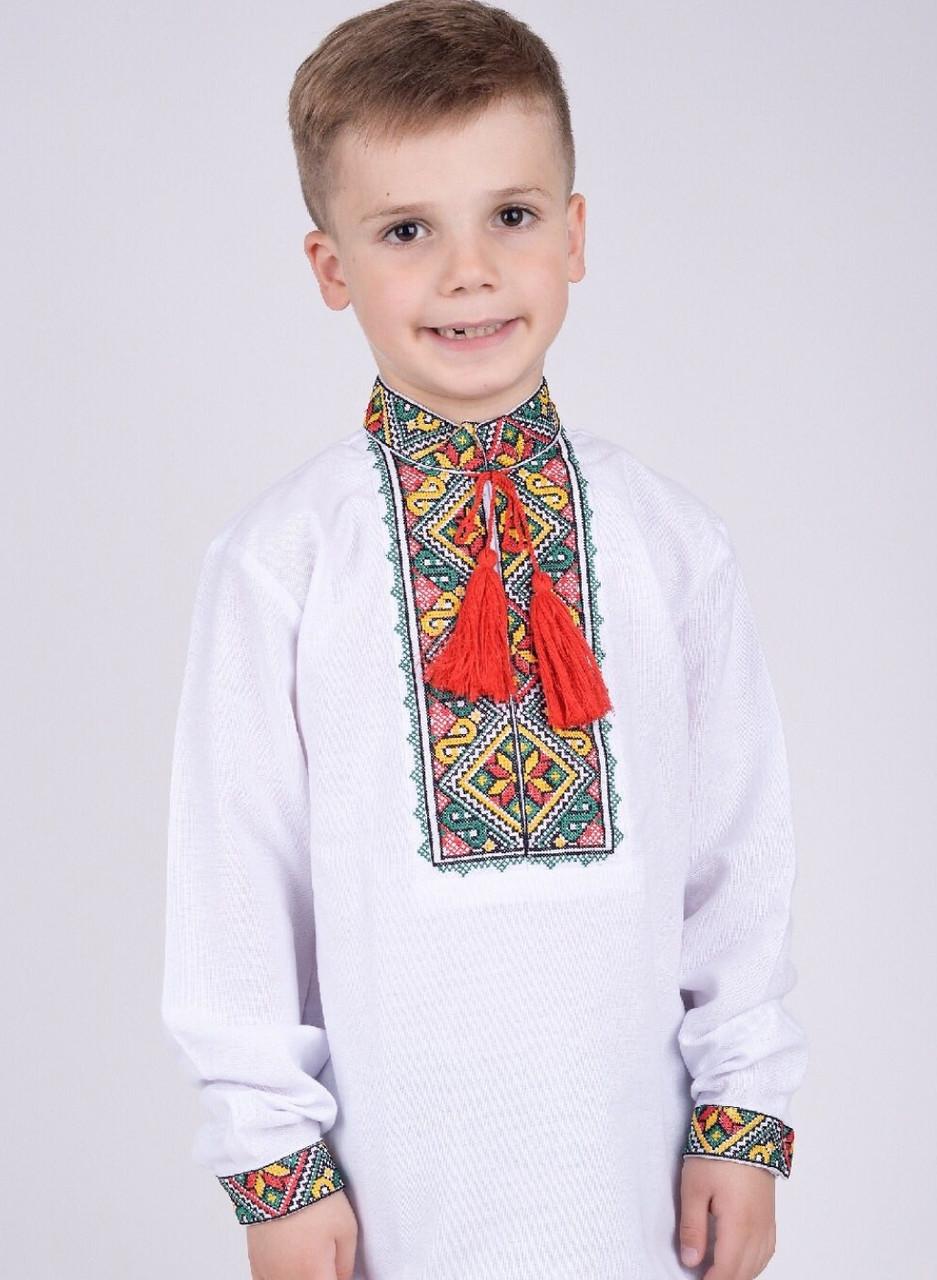 Вышиванка для мальчиков цветная ЖТ30