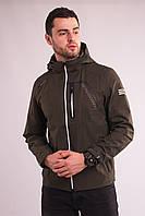 Ветровка куртка мужская хаки Avecs AV-70389/25 Khaki Размеры 46 50 52 54 56