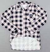 Рубашка для девочек оптом оптом, 128-164 рр. Артикул: 5005-розовый