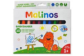 Фломастеры на водной основе MALINOS Babyzauber для малышей 10 шт