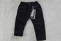 Утеплені вельветові штани на флісі 1 рік