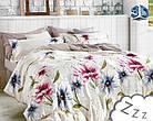 Комплект постельного белья Микроволокно HXDD-798 M&M 7359 Кремовый, Розовый, Синий, фото 2