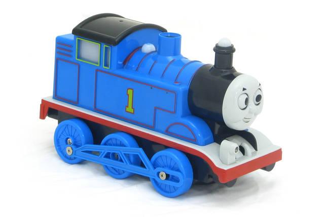 Паровозик Томас на бат. Thomas Bubble Train мыльные пузыри, фото 2