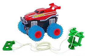 Машинка на бат. Trix Trux (красный)