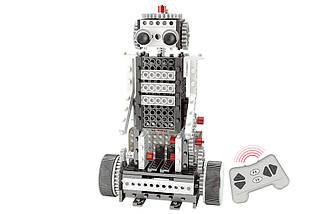 Конструктор STEM с пультом HIQ R732 4-в-1 253 детали (луноходы), фото 3