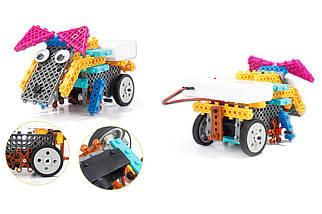 Конструктор электронный детский HIQ B711 12-в-1 173 детали (животные), фото 2