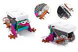 Конструктор электронный детский HIQ B711 12-в-1 173 детали (животные), фото 6