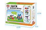 Конструктор электронный детский HIQ B711 12-в-1 173 детали (животные), фото 10
