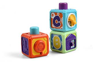 Развивающая игрушка Kidian музыкальные интерактивные кубики, фото 3