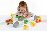 Пазл 3D детский магнитные животные POPULAR Playthings Mix or Match (тигр, крокодил, слон, жираф), фото 2