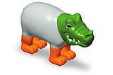 Пазл 3D детский магнитные животные POPULAR Playthings Mix or Match (тигр, крокодил, слон, жираф), фото 4