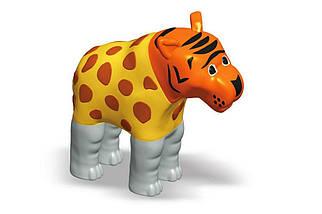 Пазл 3D детский магнитные животные POPULAR Playthings Mix or Match (тигр, крокодил, слон, жираф), фото 3