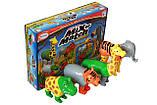 Пазл 3D детский магнитные животные POPULAR Playthings Mix or Match (тигр, крокодил, слон, жираф), фото 6