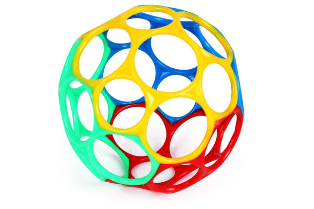 Мяч Baoli развивающая игрушка 0+, фото 2