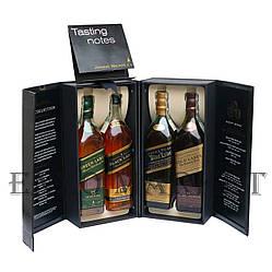 Набор виски Johnnie Walker Collection (Джонни Вокер Колекшн) 40% 4х0,2 литра