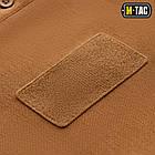 M-Tac поло тактическое длинный рукав 65/35 Coyote Brown, фото 4