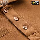 M-Tac поло тактическое длинный рукав 65/35 Coyote Brown, фото 6