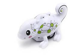 Индуктивная игрушка Хамелеон Happy Cow 777-613 меняет цвет и ездит по линии