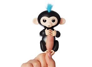 Ручная обезьянка на бат. Happy Monkey интерактивная (чёрный), фото 2