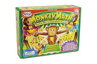 Развивающая игра по математике Popular Monkey Math Задачки от мартышки (сложение), фото 3