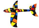 Планер метательный J-Color Hawk 600мм c комплектом красок, фото 4
