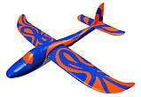 Планер метательный J-Color Hawk 600мм c комплектом красок, фото 5