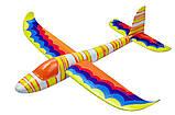 Планер метательный J-Color Hawk 600мм c комплектом красок, фото 10