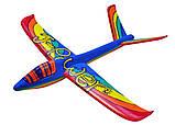 Планер метательный J-Color Eagle 600мм c комплектом красок, фото 3