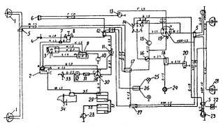 Электрооборудование трактора Т-40