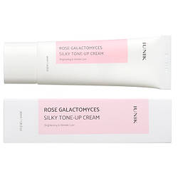 Тонирующий крем IUNIK Rose Galactomyces Silky Tone Up cream